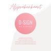 D-SIGN by Dionne Afsprakenkaartje